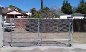 chain link fence double gate. Driveway Gate - Chain Link 90016 Fence Double