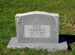 Cecil Aldridge (1920-1943) - Find A Grave Memorial