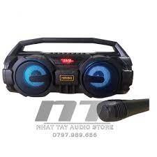 Loa bluetooth Kimiso S1 | Loa karaoke mini xách tay di động chỉ với 450K