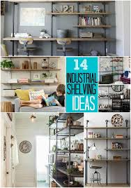 how to build industrial shelves beneath my heart for colins room build industrial furniture