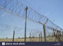 barbed wire fence prison. Contemporary Prison Barbed Wire Fence Around The Formerly Prison On Robben Island Cape Town  South Africa For Wire Fence Prison N
