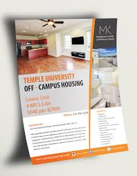 Apartment Flyer Ideas Colorful Bold Real Estate Flyer Design For A Company By