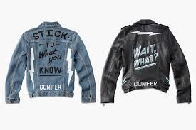 lucky brand and ornamental conifer create must have denim and leather jackets