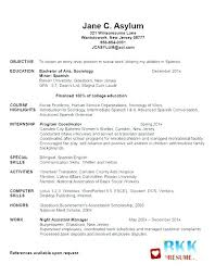 Resume Examples For Nursing Beauteous Student Nursing Resume Samples Examples Example Free Template