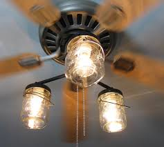image of decorating ceiling fan light shades