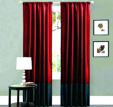 Scenic Black And White Bedroom Curtains Red Blackout For Grey ...