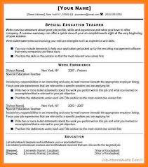 Curriculum Vitae For Teacher Job Cv For Fresher Teacher Job Images
