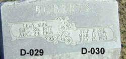 "Eulalia ""Lela"" Kirk Roberts (1877-1968) - Find A Grave Memorial"
