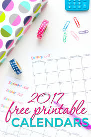 Online Planning Calendar Custom Editable Free Printable 2017 Calendars Sarah Titus