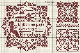Isabelle Vautier Free Charts Isabelle Vautier Freebie Embroidery And Biscornus Three