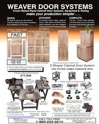 3 Shaper Cabinet Door System: Weaver Manufacturing Online Store