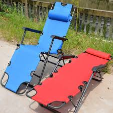 178 61 30cm portable metal oxford cloth folding chairs office napping chairs beach bed chair outdoor swimming pool lying chair tie chair waiting chair