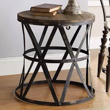 rustic coffee tables and end black forest round table modern s