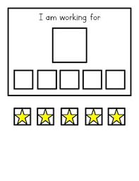 Teacher Reward Chart Simple Star Reward Chart