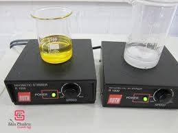 using a magnetic stirrer for oleogel