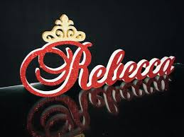 Custom name 3D Rebecca ,foam <b>letters</b> name age block,3D name ...