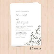 Free Printable Pdf Invitation Template Editable Texts