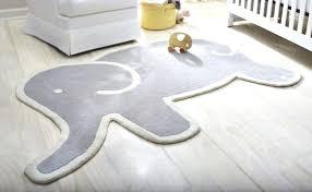 grey elephant nursery rug baby floor