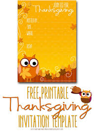 Free Online Thanksgiving Invitations Thanksgiving Dinner Invitation Template Dattstar Com