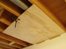 basement wood ceiling ideas. Don Oystryk Removable Panel And Batten Basement Ceiling (6) Wood Ideas L