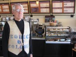 Brought to you by the diedrich family. Man S Vest Connects Kean Coffee With Old Diedrich S Orange County Register