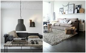 Modern Maar Warm Interieur Mooie Warme Moderne Woonkamer Interieur