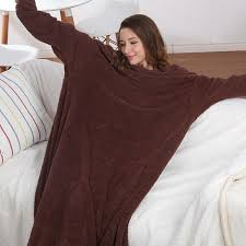 Wearable Blanket With Sleeves - Buy Blanket With Long Sleeve ... & wearable blanket with sleeves Adamdwight.com