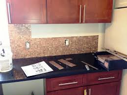 Stick On Backsplash For Kitchen Custom Images Of Self Stick Kitchen Backsplash Tiles In Peel And