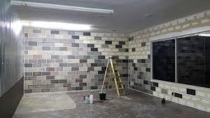 cinder block walls concrete basement walls