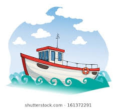 cartoon images of boats.  Images Vintage Boat On A Sunny Day Vector Illustration For Cartoon Images Of Boats Shutterstock