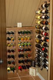creative brown walnut wine cellar rack cabinet and black iron wine rack towel awesome wine cellar
