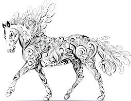 Coloring Horse Pages Horse Coloring Pages To Print Horse Coloring