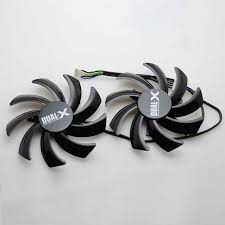 <b>2pcs</b>/<b>lot</b> Computer VGA <b>Cooler</b> Heatsink <b>graphics card</b> Cooling <b>Fan</b> ...