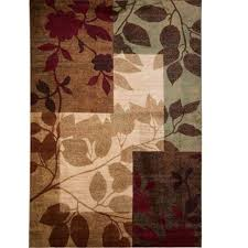 design of home furniture. Leaf Pattern Area Rugs Awesome Nice Look 6 Mills Beige Brown Home Design Insights Furniture Of