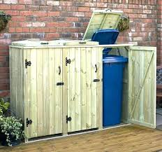 garbage storage shed full size of outside kitchen cans outdoor trash can cabinet bin bins canadian garbage storage shed average outdoor trash can