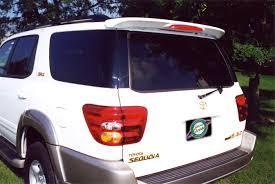Amazon.com: Toyota Sequoia Rear Spoiler 2001 2002 2003 2004 2005 ...