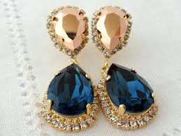 rose gold chandelier bridal earrings home improvement cast 2018 pictures ideas