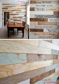 You can do it quickly and for cheap. Choose a paint color to some of them  to makethis wall so unique and so beautiful. Leave some boards natural to  give it ...