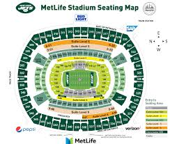 Wrestlemania Seating Chart Metlife Park Detailed Rows Online Charts Collection