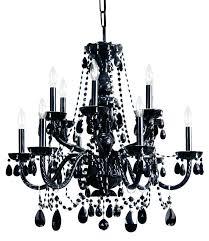 surprising best black chandeliers images on chandelier pertaining black crystal chandelier replacement parts