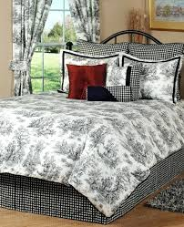 black toile bedding sets black and cream bedding marvelous black and cream bedding a 1 classy