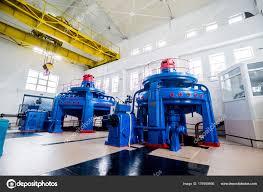 power plant generators. Turbine Generators Hydroelectric Power Plant Interior \u2014 Stock Photo A