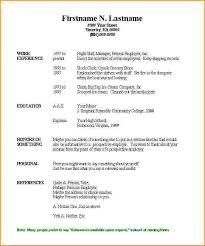 Fill Out Resumes. Stylish Design Ideas How To