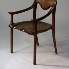 hand crafted low back dining chair by hayes furniture design custommade