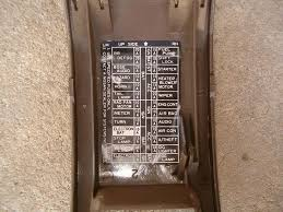 fuse diagram forums it s on the inside of the fuse box cover