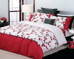 Beautiful Red Cherry Blossom Bedding 69 About Remodel Soft Duvet Covers  With Red Cherry Blossom Bedding