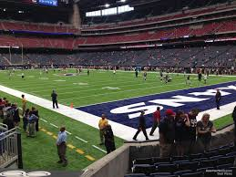 Nrg Stadium Section 120 Houston Texans Rateyourseats Com