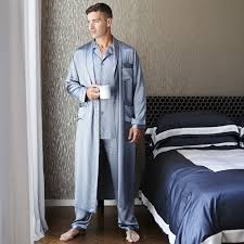 Mens Designer Pyjamas Discover The Gingerlily Mens Silk Pyjamas Grey At Amara