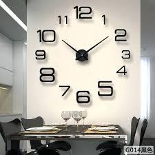 big wall clock sticker modern design clocks art decorative hanging large watch home diy photo family 1413 0 diy photo clock wall