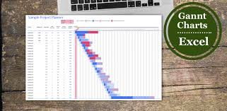 how to build a gantt chart in excel